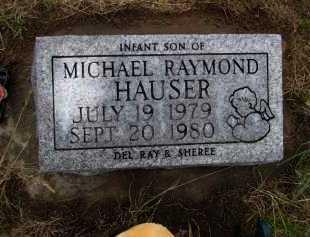 HAUSER, MICHAEL RAYMOND - Antelope County, Nebraska | MICHAEL RAYMOND HAUSER - Nebraska Gravestone Photos
