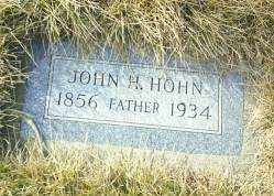 HOHN, JOHN H - Antelope County, Nebraska | JOHN H HOHN - Nebraska Gravestone Photos