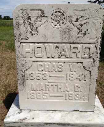 HOWARD, MARTHA C. - Antelope County, Nebraska | MARTHA C. HOWARD - Nebraska Gravestone Photos
