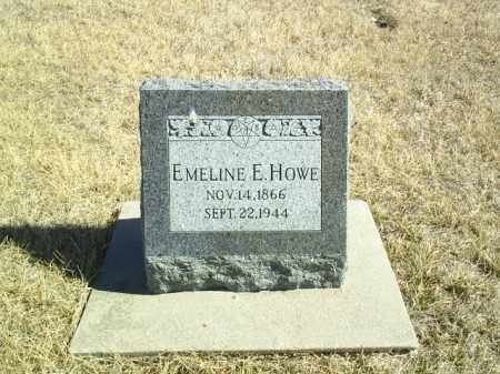 HOWE, EMELINE E - Antelope County, Nebraska | EMELINE E HOWE - Nebraska Gravestone Photos