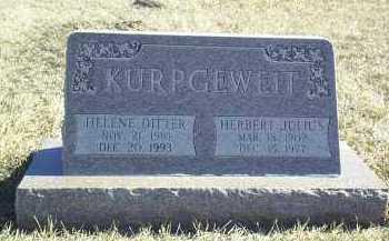 KURPGEWEIT, HELENE - Antelope County, Nebraska   HELENE KURPGEWEIT - Nebraska Gravestone Photos
