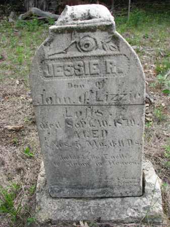 LOFTS, JESSIE R. - Antelope County, Nebraska   JESSIE R. LOFTS - Nebraska Gravestone Photos