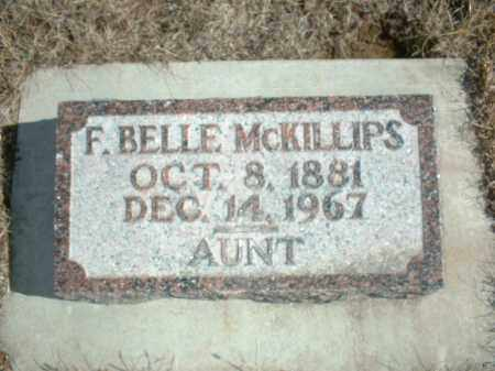 MCKILLIPS, F. BELLE - Antelope County, Nebraska   F. BELLE MCKILLIPS - Nebraska Gravestone Photos