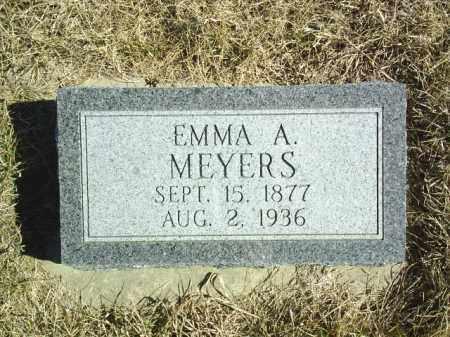 MEYERS, EMMA A - Antelope County, Nebraska | EMMA A MEYERS - Nebraska Gravestone Photos