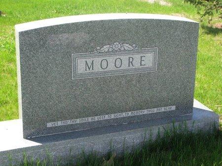 MOORE, *FAMILY MONUMENT - Antelope County, Nebraska | *FAMILY MONUMENT MOORE - Nebraska Gravestone Photos