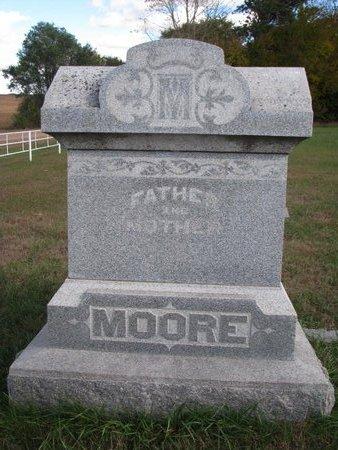 MOORE, *FAMILY MONUMENT - Antelope County, Nebraska   *FAMILY MONUMENT MOORE - Nebraska Gravestone Photos