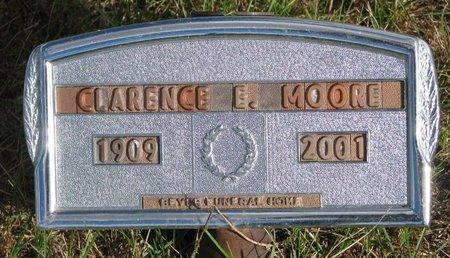 MOORE, CLARENCE E. - Antelope County, Nebraska   CLARENCE E. MOORE - Nebraska Gravestone Photos