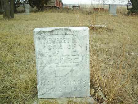 MOORE, EVERET M - Antelope County, Nebraska   EVERET M MOORE - Nebraska Gravestone Photos