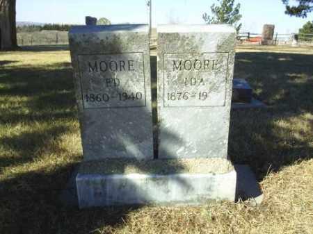 MOORE, IDA - Antelope County, Nebraska | IDA MOORE - Nebraska Gravestone Photos