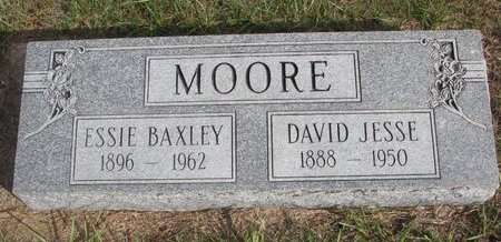 MOORE, ESSIE BELL - Antelope County, Nebraska | ESSIE BELL MOORE - Nebraska Gravestone Photos