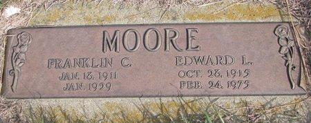 MOORE, FRANKLIN C. - Antelope County, Nebraska | FRANKLIN C. MOORE - Nebraska Gravestone Photos