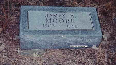 MOORE, JAMES A - Antelope County, Nebraska | JAMES A MOORE - Nebraska Gravestone Photos