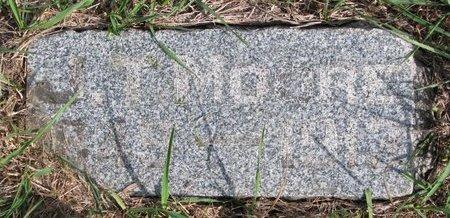 MOORE, JOHN T. - Antelope County, Nebraska   JOHN T. MOORE - Nebraska Gravestone Photos