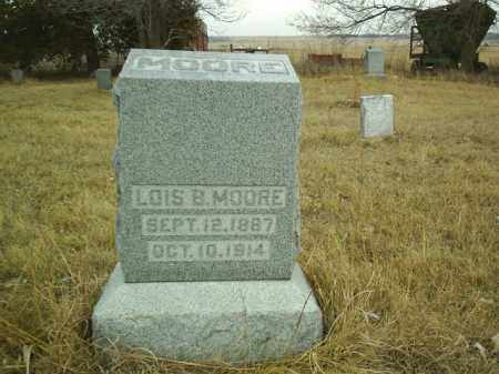 MOORE, LOIS B - Antelope County, Nebraska   LOIS B MOORE - Nebraska Gravestone Photos