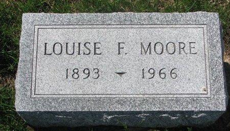 MOORE, LOUISE FRANCES - Antelope County, Nebraska | LOUISE FRANCES MOORE - Nebraska Gravestone Photos