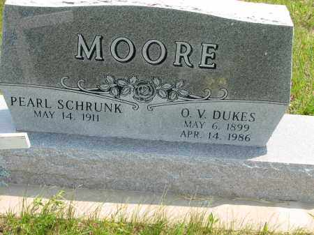 MOORE, PEARL MAE - Antelope County, Nebraska   PEARL MAE MOORE - Nebraska Gravestone Photos