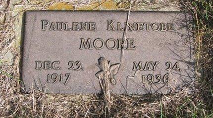 MOORE, PAULENE - Antelope County, Nebraska | PAULENE MOORE - Nebraska Gravestone Photos