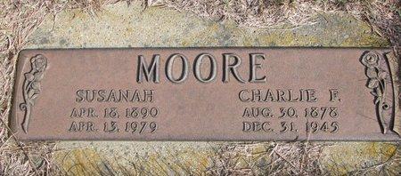 MOORE, SUSANAH - Antelope County, Nebraska | SUSANAH MOORE - Nebraska Gravestone Photos