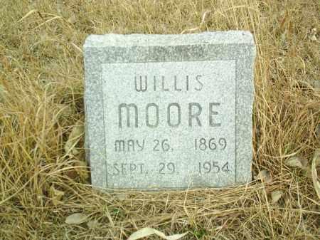 MOORE, WILLIS - Antelope County, Nebraska | WILLIS MOORE - Nebraska Gravestone Photos