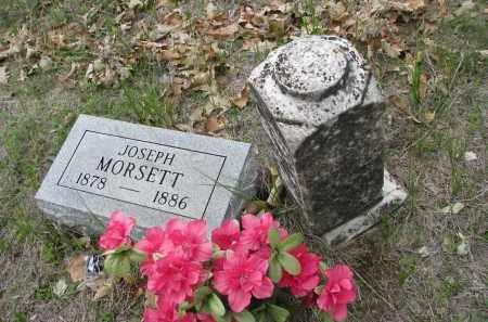 MORSETT, JOSEPH - Antelope County, Nebraska | JOSEPH MORSETT - Nebraska Gravestone Photos