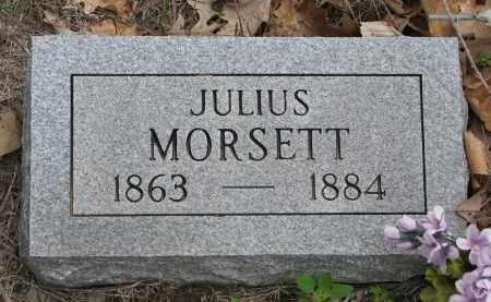 MORSETT, JULIUS L. (NEW STONE) - Antelope County, Nebraska | JULIUS L. (NEW STONE) MORSETT - Nebraska Gravestone Photos