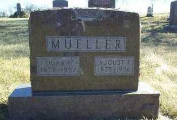 MUELLER, DORA - Antelope County, Nebraska   DORA MUELLER - Nebraska Gravestone Photos
