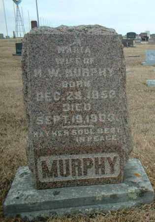 MURPHY, MARIA - Antelope County, Nebraska | MARIA MURPHY - Nebraska Gravestone Photos