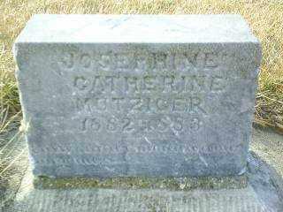 MUTZINGER, JOSEPHINE - Antelope County, Nebraska | JOSEPHINE MUTZINGER - Nebraska Gravestone Photos