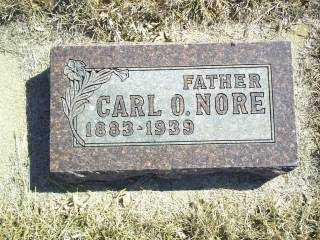 NORE, CARL - Antelope County, Nebraska | CARL NORE - Nebraska Gravestone Photos