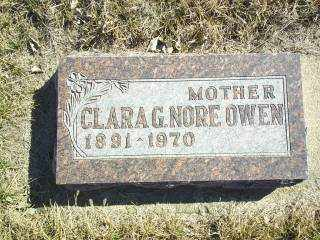 OWEN, CLARA - Antelope County, Nebraska | CLARA OWEN - Nebraska Gravestone Photos