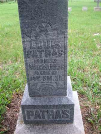 PATRAS, LOUISE - Antelope County, Nebraska | LOUISE PATRAS - Nebraska Gravestone Photos