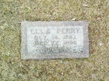 PERRY, ELLA - Antelope County, Nebraska | ELLA PERRY - Nebraska Gravestone Photos