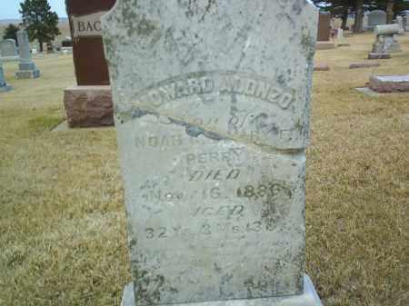 PERRY, HOWARD ALONZO - Antelope County, Nebraska   HOWARD ALONZO PERRY - Nebraska Gravestone Photos