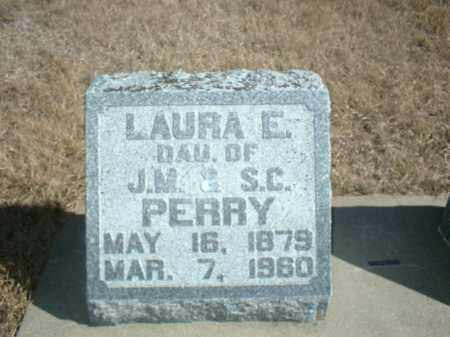 PERRY, LAURA E - Antelope County, Nebraska   LAURA E PERRY - Nebraska Gravestone Photos