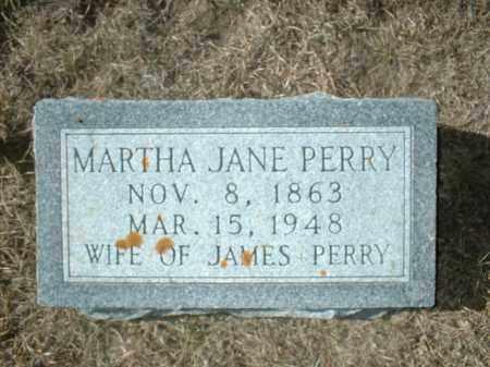 PERRY, MARTHA JANE - Antelope County, Nebraska   MARTHA JANE PERRY - Nebraska Gravestone Photos