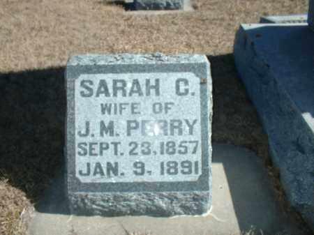 PERRY, SARAH C - Antelope County, Nebraska   SARAH C PERRY - Nebraska Gravestone Photos