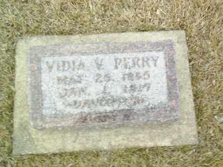 PERRY, VIDIA V - Antelope County, Nebraska   VIDIA V PERRY - Nebraska Gravestone Photos