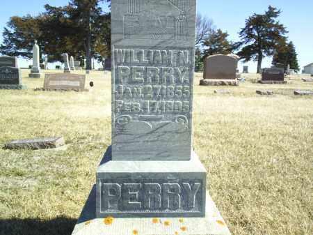 PERRY, WILLIAM N - Antelope County, Nebraska | WILLIAM N PERRY - Nebraska Gravestone Photos