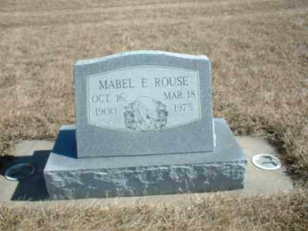 ROUSE, MABLE E - Antelope County, Nebraska   MABLE E ROUSE - Nebraska Gravestone Photos