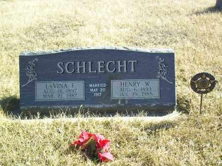 SCHLECHT, HENRY W - Antelope County, Nebraska | HENRY W SCHLECHT - Nebraska Gravestone Photos