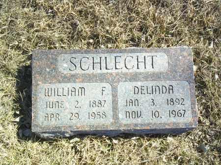 SCHLECHT, WILLIAM - Antelope County, Nebraska | WILLIAM SCHLECHT - Nebraska Gravestone Photos