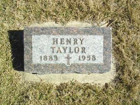 TAYLOR, HENRY - Antelope County, Nebraska   HENRY TAYLOR - Nebraska Gravestone Photos