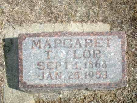 TAYLOR, MARGARET - Antelope County, Nebraska   MARGARET TAYLOR - Nebraska Gravestone Photos
