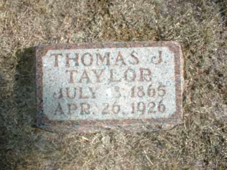 TAYLOR, THOMAS J - Antelope County, Nebraska | THOMAS J TAYLOR - Nebraska Gravestone Photos