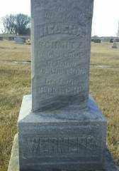WERMER, HELENA - Antelope County, Nebraska | HELENA WERMER - Nebraska Gravestone Photos