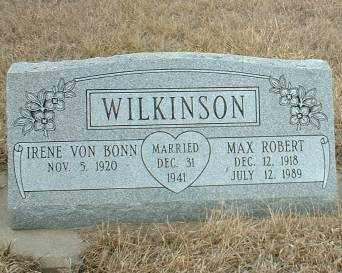 WILKINSON, MAX - Antelope County, Nebraska | MAX WILKINSON - Nebraska Gravestone Photos