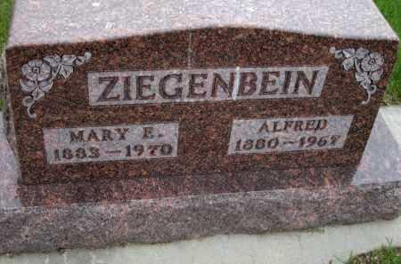 ZIEGENBEIN, ALFRED - Antelope County, Nebraska | ALFRED ZIEGENBEIN - Nebraska Gravestone Photos