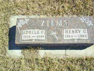 ZIEMS, HENRY C - Antelope County, Nebraska | HENRY C ZIEMS - Nebraska Gravestone Photos