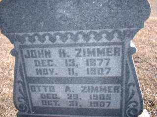 ZIMMER, OTTO - Antelope County, Nebraska   OTTO ZIMMER - Nebraska Gravestone Photos