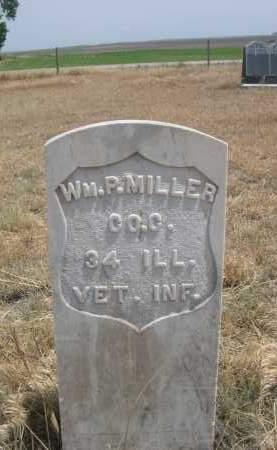 MILLER, WM. P. - Banner County, Nebraska | WM. P. MILLER - Nebraska Gravestone Photos